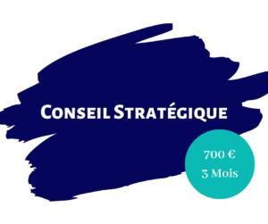 Conseil stratégique 3 mois
